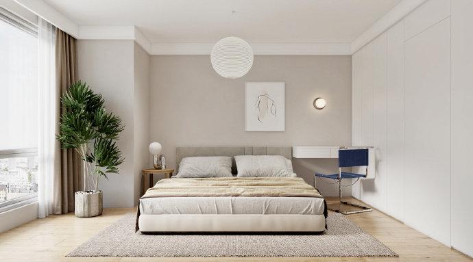 成都金房三径装修效果图案例-别墅设计